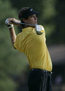 Paul Azinger during the first round of the Chrysler Classic of Greensboro at Forest Oaks Country Club in Greensboro, North Carolina on October 5, 2006. PGA TOUR - 2006 Chrysler Classic of Greensboro - First RoundPhoto by Michael Cohen/WireImage.com