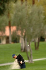 Stephen Leaney in action during the third round of the 2007 Bob Hope Chrysler Classic at La Quinta Country Club in La Quinta, California on January 19, 2007. PGA TOUR - 2007 Bob Hope Chrysler Classic - Third RoundPhoto by Steve Grayson/WireImage.com