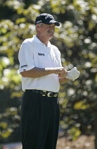 R.W. Eaks during the third and final round of the Greater Hickory Classic at Rock Barn held at Rock Barn Golf & Spa in Conover, North Carolina, on October 1, 2006. Photo by: Chris Condon/PGA TOURPhoto by: Chris Condon/PGA TOUR