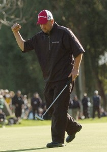 Craig Barlow in action during the final round of 2006 Nissan Open Presented by Countrywide at Riviera Country Club in Pacific Palisades, California February 19, 2006.Photo by Steve Grayson/WireImage.com