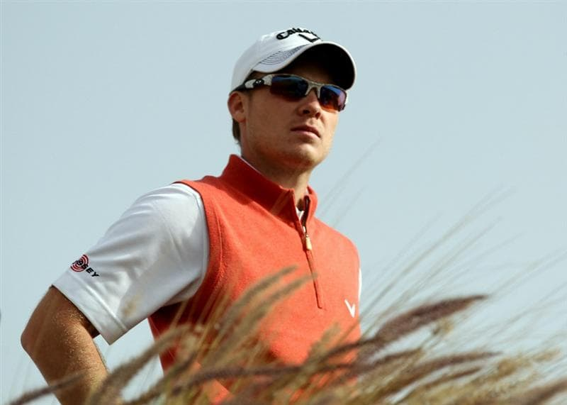 DOHA, QATAR - FEBRUARY 03:  Danny Willett of England during the first round of the Commercialbank Qatar Masters at the Doha Golf Club on February 3, 2011 in Doha, Qatar.  (Photo by Ross Kinnaird/Getty Images)