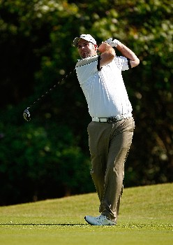 RIO GRANDE, PUERTO RICO - MARCH 20:  Kenneth Ferrie of England hits his tee shot on the 7th hole during the first round of the Puerto Rico Open presented by Banco Popular held on March 20, 2008 at Coco Beach Golf & Country Club in Rio Grande, Puerto Rico.  (Photo by Mike Ehrmann/Getty Images)