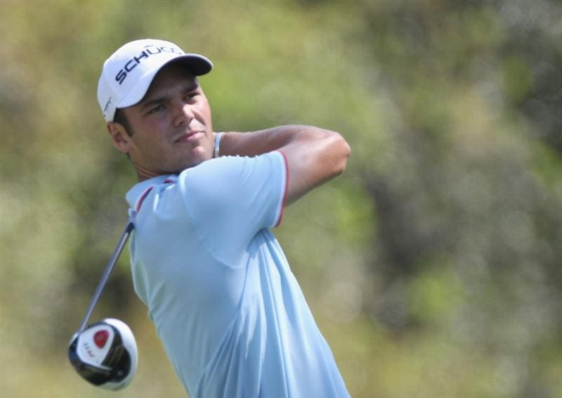 PALM HARBOR, FL - MARCH 18:  Martin Kaymer of Germany plays a shot on the 9th hole during the second round of the Transitions Championship at Innisbrook Resort and Golf Club on March 18, 2011 in Palm Harbor, Florida.  (Photo by Sam Greenwood/Getty Images)