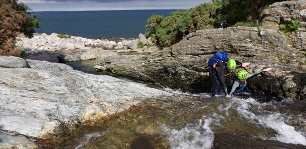 River Bouldering