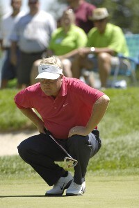 Carl Pettersson during the second round of The John Deere Classic at the TPC Deere Run in Silvis, Illinois on Friday, July 13, 2007 PGA - 2007 John Deere Classic - Second RoundPhoto by Marc Feldman/WireImage.com