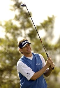 Lee Janzen in action during the first round of the Bob Hope Chrysler Classic at The Classic Club in Palm Desert, California  on Wednesday, January 18, 2006.Photo by Marc Feldman/WireImage.com