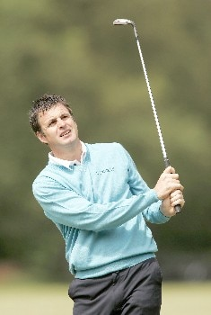Richard Bland during the final round of the 2005 KLM Open at Hilversumsche Golf Club. June 12, 2005Photo by Pete Fontaine/WireImage.com