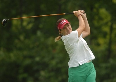 Lorie Kane during the second round of the 2006 Wendy's Championship for Children held at Tartan Fields Golf Club in Dublin, Ohio on August 25, 2006.Photo by Steve Grayson/WireImage.com