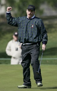 Bill Murray during the first round of the Outback Steakhouse Pro-Am held at TPC Tampa Bay in Lutz, Florida, on February 16, 2007. Photo by: Stan Badz/PGA TOURPhoto by: Stan Badz/PGA TOUR