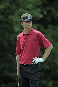 John Senden during the first round of the John Deere Classic at TPC at Deere Run in Silvis, Illinois on July 13, 2006.Photo by Michael Cohen/WireImage.com