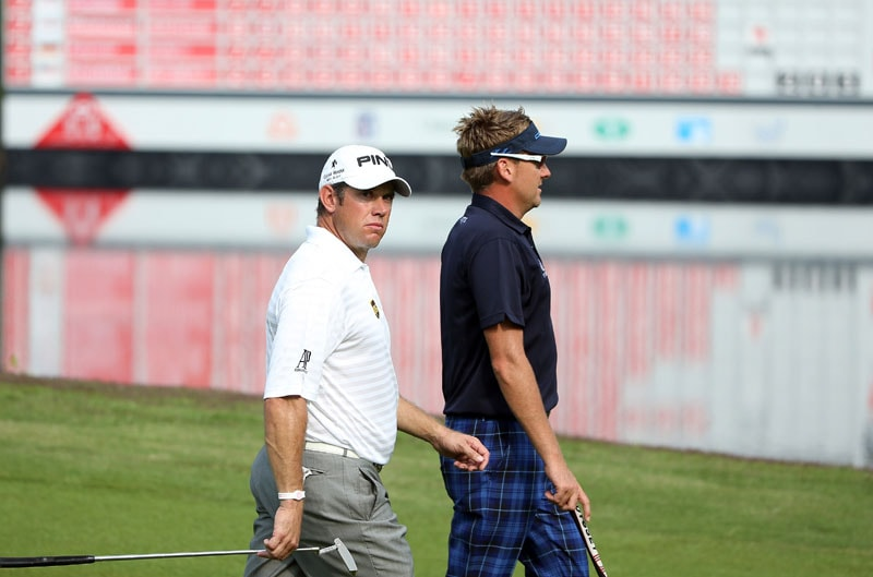 Lee Westwood and Ian Poulter