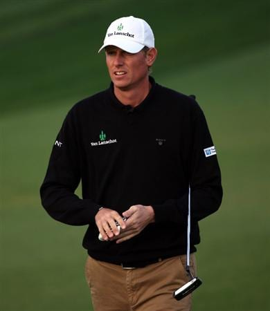 DOHA, QATAR - JANUARY 23:  Maarten Lafeber of The Netherlands walks towards his ball on the sixth hole during the second round of  the Commercialbank Qatar Masters at Doha Golf Club on January 23, 2009 in Doha, Qatar.  (Photo by Andrew Redington/Getty Images)