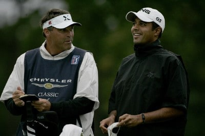 Arjun Atwal during the second round of the Chrysler Classic of Greensboro at Forest Oaks Country Club in Greensboro, North Carolina on October 6, 2006. PGA TOUR - 2006 Chrysler Classic of Greensboro - Second RoundPhoto by Michael Cohen/WireImage.com