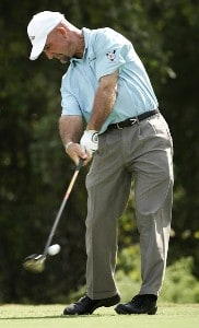 Marco Dawson during the fourth and final round of the 2006 FUNAI Classic at WALT DISNEY WORLD Resort on the Magnolia Course in Lake Buena Vista, Florida, on October 22, 2006. PGA TOUR - 2006 FUNAI Classic at the WALT DISNEY WORLD Resort - Final RoundPhoto by Sam Greenwood/WireImage.com
