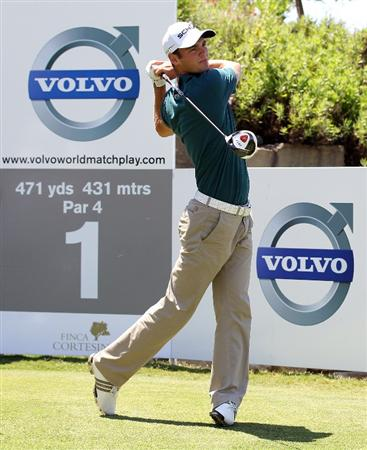 CASARES, SPAIN - MAY 21:  Martin Kaymer of Germany during his quarter final match of the Volvo World Match Play Championships at Finca Cortesin on May 20, 2011 in Casares, Spain.  (Photo by Ross Kinnaird/Getty Images)