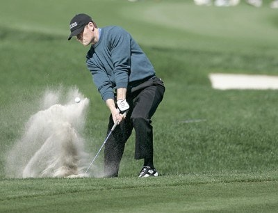 James Driscoll during the third round of THE PLAYERS Championship held at the TPC Stadium Course in Ponte Vedra Beach, Florida on March 25, 2006.Photo by Michael Cohen/WireImage.com
