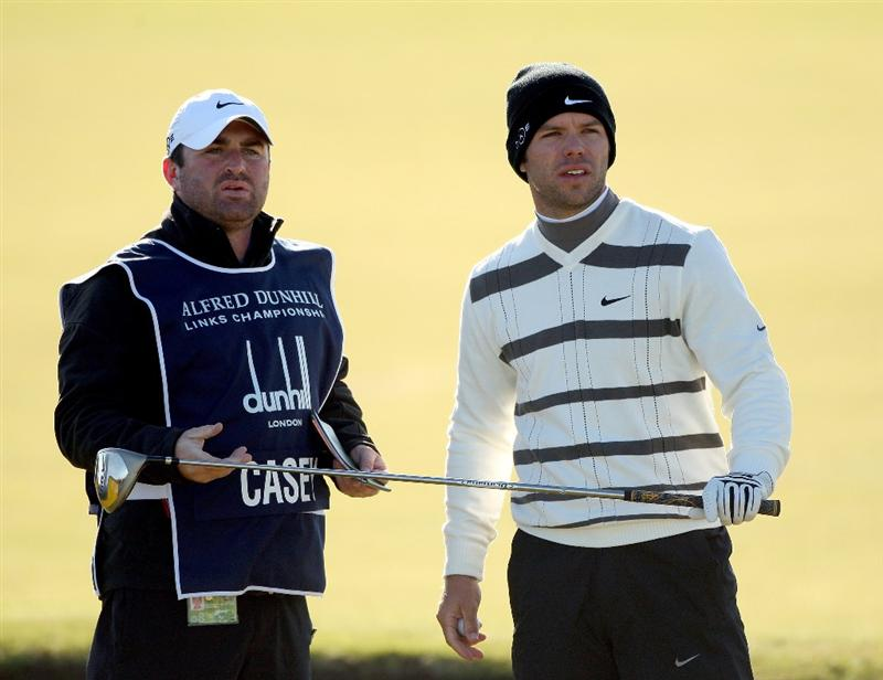 ST. ANDREWS, UNITED KINGDOM - OCTOBER 05: during the final round of The Alfred Dunhill Links Championship at The Old Course on October 5, 2008 in St.Andrews, Scotland. (Photo by Warren Little/Getty Images)
