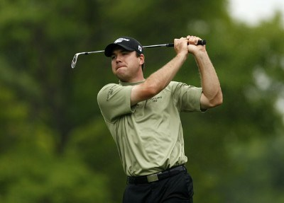 Arron Oberholser in action during the second round of the Crowne Plaza Invitational at Colonial at the Colonial Country Club in Fort Worth, Texas on May 25, 2007. PGA TOUR - 2007 Crowne Plaza Invitational at Colonial - Second RoundPhoto by Steve Grayson/WireImage.com