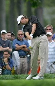 Bo Van Pelt during a practice round at the 2006 U.S. Open Golf Championship held at Winged Foot Golf Club in Mamaroneck, New York on Monday, June 12, 2006.Photo by Sam Greenwood/WireImage.com