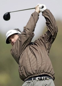 Bruce Lietzke in action during the first round of the Toshiba Classic, March 17, 2006, held at Newport Beach Country Club, Newport Beach, California. Photo by Gregory Shamus/WireImage.com