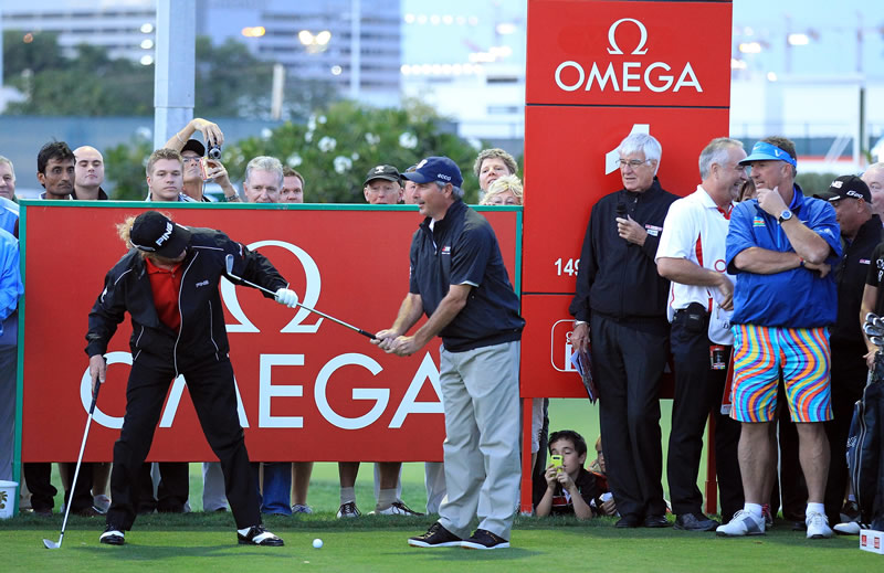 Fred Couples, Miguel Angel Jimenez