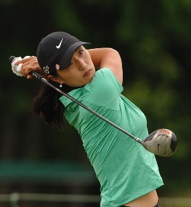 Grace Park in action during the final round of the 2006 Franklin American Mortgage Championship benefiting the Monroe Carell Jr. Children's Hospital at Vanderbilt at Vanderbilt Legends Club in Franklin, Tennessee on May 7, 2006.Photo by Steve Grayson/WireImage.com