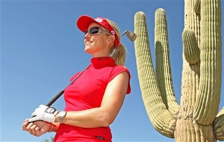 SUPERSTITION MOUNTAIN, ARIZONA - MARCH 27:  Carin Koch of Sweden poses for a portrait during the first round of the Safeway International at Superstition Mountain Golf and Country Club on March 27, 2008 in Superstition Mountain, Arizona.  (Photo by Scott Halleran/Getty Images)