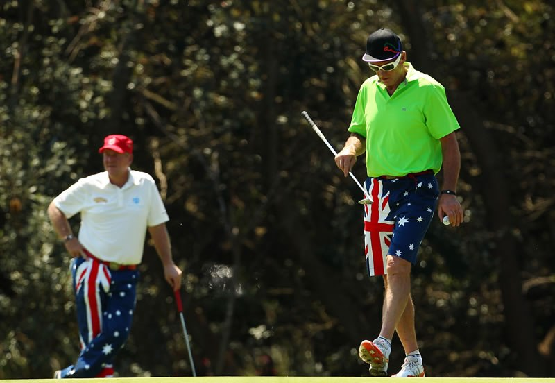 John Daly and Sam Newman