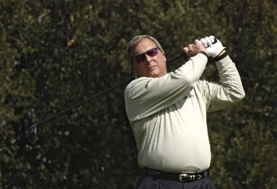 Fuzzy Zoeller in action during the second round of the 2006 AT&T Classic on Saturday, March 11, 2006 at  Valencia Country Club in Valencia, CaliforniaPhoto by Marc Feldman/WireImage.com