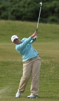 ST ANDREWS, UNITED KINGDOM - AUGUST 02:  Karen Stupples of England hits her second shot on the 7th hole during the First Round of the 2007 Ricoh Women's British Open held on the Old Course at St Andrews on August 2, 2007 in St Andrews, Scotland. (Photo by David Cannon/Getty Images)