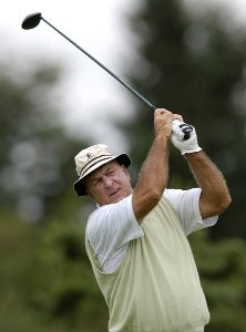 Jim Albus during the first round of the JELD-WEN Tradition at The Reserve Vineyards & Golf Club in Aloha, Oregon on Thursday, August 24, 2006.Photo by Steve Levin/WireImage.com