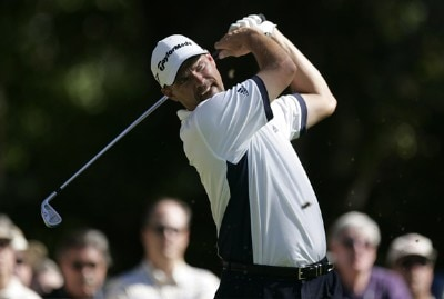 Cliff Kresge hits from ninth tee during the first round of the 2007 Verizon Heritage Classic at Harbour Town Golf Links in Hilton Head Island on April 9 PGA TOUR - 2007 Verizon Heritage - First RoundPhoto by Steve Grayson/WireImage.com