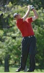 Tom Lehman during the first round of the EDS Byron Nelson Championship held at the TPC Players Course and the Cottonwood Valley Course on Thursday, May 11, 2006 in Irving, TexasPhoto by Marc Feldman/WireImage.com