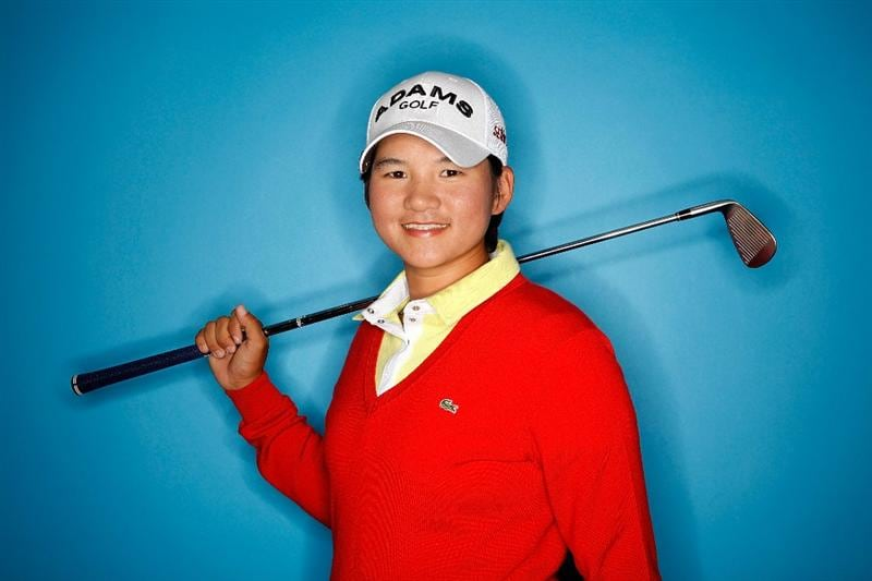 CITY OF INDUSTRY, CA - MARCH 22:  Yani Tseng of Taiwan poses for a portrait on March 22, 2011 at the Industry Hills Golf Club in the City of Industry, California.  (Photo by Jonathan Ferrey/Getty Images)