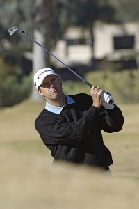Steve Jones in action during the first round of the 2006 Chrysler Classic of Tucson on February 23, 2006 at the Omni Tucson National Golf Resort and Spa in Tucson, ArizonaPhoto by Marc Feldman/WireImage.com