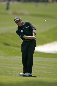 Brian Davis during the third round of THE PLAYERS Championship held at the TPC Stadium Course in Ponte Vedra Beach, Florida on March 25, 2006.Photo by Michael Cohen/WireImage.com