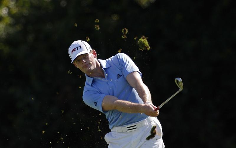 RIO GRANDE, PR - MARCH 11:  James Driscoll hits a shot from the fairway during the second round of the Puerto Rico Open presented by seepuertorico.com at Trump International Golf Club on March 11, 2011 in Rio Grande, Puerto Rico.  (Photo by Michael Cohen/Getty Images)