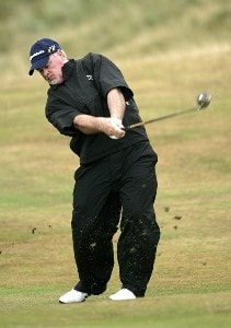 Tim Simpson (US) during the third round of the 2006 Senior British Open Championship at The Westin Turnberry Resort in Ayrshire, Scotland on Saturday, July 29, 2006.Photo by Matthew Harris/WireImage.com
