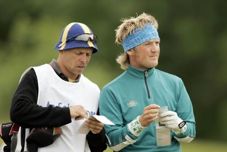 Pelle Edberg during the first round of the 2005 Aa St Omer Open at the Aa St Omer Golf Club. June 16, 2005Photo by Pete Fontaine/WireImage.com