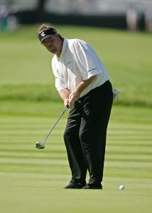 Steve Lowery during a practice round at the 2006 U.S. Open Golf Championship held at Winged Foot Golf Club in Mamaroneck, New York on Tuesday, June 13, 2006.Photo by Sam Greenwood/WireImage.com
