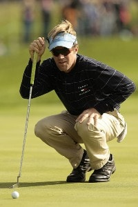 USA's Brett Quigley during the third round of the 2006 American Express Championship held at the Grove Golf Club. September 30, 2006. PGA TOUR - WGC - 2006 American Express Championship - Third RoundPhoto by Pete Fontaine/WireImage.com