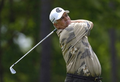 Scott Simpson during the second round of the Regions Charity Classic held at Robert Trent Jones Golf Trail at Ross Bridge in Birmingham, Alabama, on May 6, 2006.Photo by Steve Levin/WireImage.com