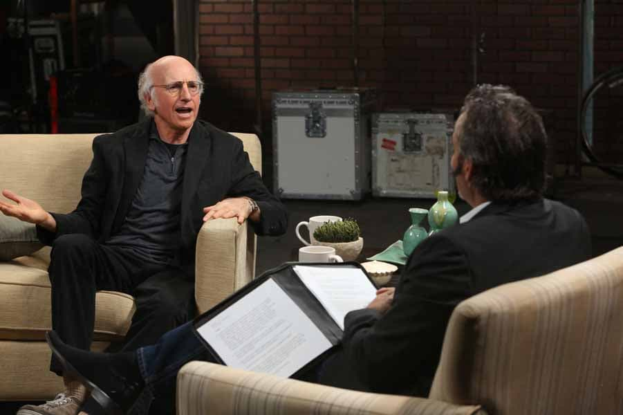Larry David talks golf with Feherty