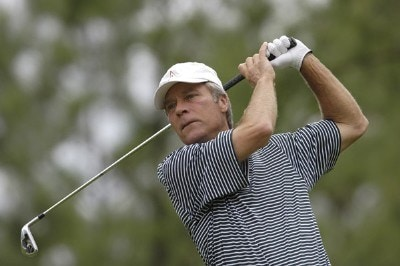 Ben Crenshaw during the first round of the Regions Charity Classic held at Robert Trent Jones Golf Trail at Ross Bridge in Birmingham, AL, on May 5, 2006.Photo by Steve Levin/WireImage.com