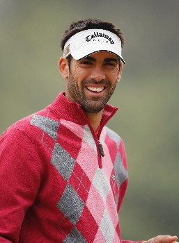 NEW DELHI, INDIA - FEBRUARY 08:  Alvaro Quiros Garcia of Spain looks on during the second round of the Emaar-MGF Indian Masters at the Delhi Golf Club on February 8, 2008 in Delhi, India.  (Photo by Stuart Franklin/Getty Images)