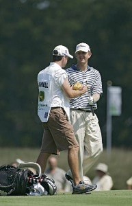 Michael Connell during the third round of the John Deere Classic at TPC at Deere Run in Silvis, Illinois on July 15, 2006.Photo by Michael Cohen/WireImage.com