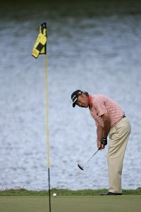 Isao Aoki in action during the second round of the 2006 Turtle Bay Championship - Turtle Bay Resort,  Kahuku, Oahu, HawaiiPhoto by: Chris Condon/PGA TOUR