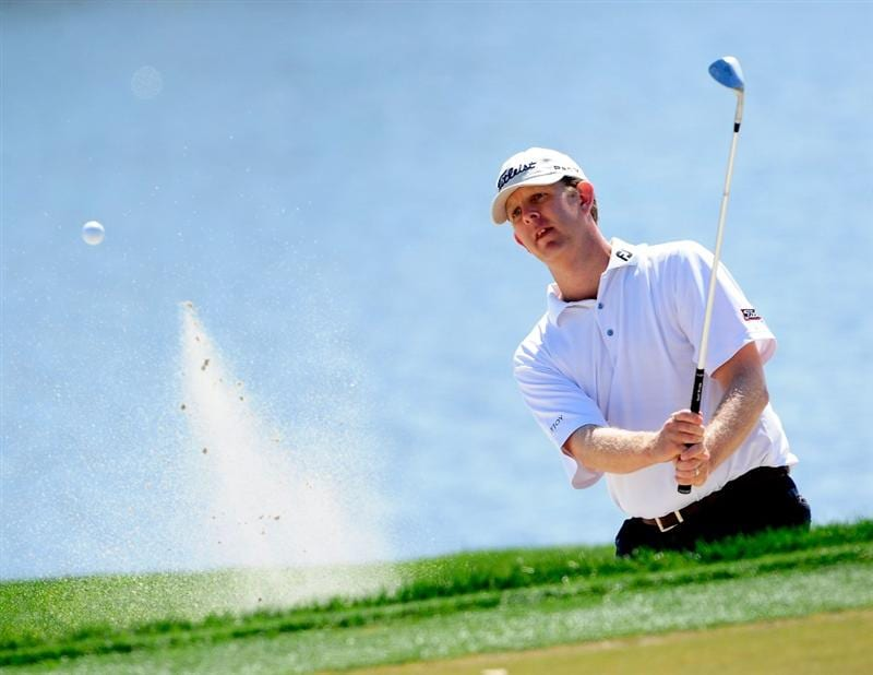PALM BEACH GARDENS, FL - MARCH 06:  Michael Connell plays a shot on the 1st hole during the third round of the Honda Classic at PGA National Resort And Spa on March 6, 2010 in Palm Beach Gardens, Florida.  (Photo by Sam Greenwood/Getty Images)