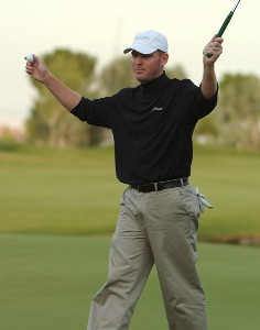 Troy Matteson wins the Fry.com Open at the TPC Summerland in Las Vegas, Nevada on Sunday, October 15, 2006 PGA TOUR - 2006 Frys.com Open - Final RoundPhoto by Marc Feldman/WireImage.com