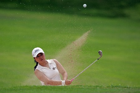 KAPOLEI, HI - FEBRUARY 23: Jeong Jang of South Korea hits her third shot on the 11th hole during the final round of the Fields Open on February 23, 2008 at the Ko Olina Golf Club in Kapolei, Hawaii. (Photo by Andy Lyons/Getty Images)